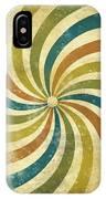 grunge Rays background IPhone Case