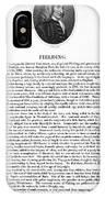 Henry Fielding (1707-1754) IPhone Case