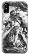 Hercules And Omphale IPhone Case