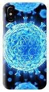 Hiv Particles IPhone Case