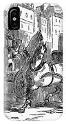 Horse Carriage, 1853 IPhone Case