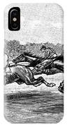Horse Racing, 1900 IPhone Case