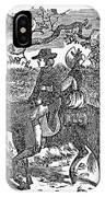 Horseback Riding IPhone Case