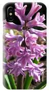 Hyacinth Named Splendid Cornelia IPhone Case