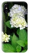 Hydrangea Blooming IPhone Case