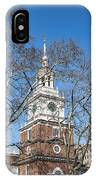 Independence Hall IPhone X Case