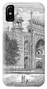 India: Taj Mahal IPhone Case