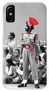 Indian Man Wearing Turban IPhone Case