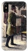 Irish Land League, 1881 IPhone Case