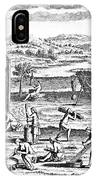 Iroquois Village, 1664 IPhone Case