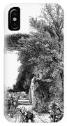 Italy: Florence, C1875 IPhone Case