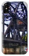 Jack-knife Bridge At Erie Canal Harbor IPhone Case