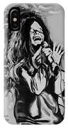 Janis In Black And White IPhone Case