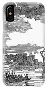 King Georges War, 1745 IPhone Case