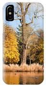 Lazienki Park Autumn Scenery IPhone Case