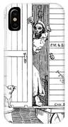 Lincoln Cartoon, 1863 IPhone Case