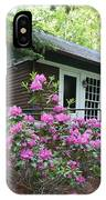 Little Brown Church In Spring IPhone Case