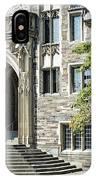 Lockhart Hall Princeton IPhone Case