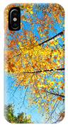 Looking Up At All The Colors IPhone Case