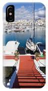 Marina In Puerto Banus IPhone Case