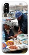 Marseilles Fishermen IPhone Case