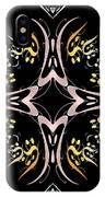 Metallic Flourishes Warp 2 IPhone Case