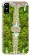Microsterias Green Alga, Light Micrograph IPhone Case