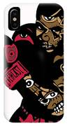 Mike Tyson Full Color IPhone Case