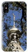 Minaret Through Oak IPhone Case