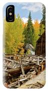 Mining Ruins IPhone Case