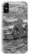 Mississippi: Flatboat IPhone Case