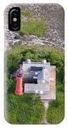 Monomoy Light At Monomoy Wildlife Refuge In Chatham On Cape Cod IPhone Case