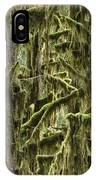 Moss Covered Trees, Hoh Rainforest IPhone Case