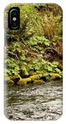 Mossy Riverbank IPhone Case