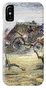 Native American Attack On Coach IPhone Case