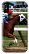 Neck And Neck At Saratoga One IPhone Case