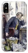 Newspaper Editor, 1880 IPhone Case