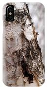 November Birch IPhone Case