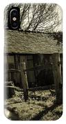Old Fashioned Shed IPhone Case
