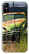 Old Green Truck IPhone Case