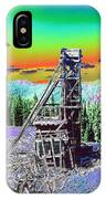 Old Mining Structure IPhone Case