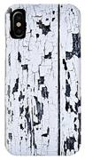 Old Painted Wood Abstract IPhone Case