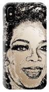 Oprah Winfrey In 2007 IPhone Case