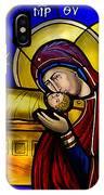 Orthodox Christmas Card IPhone Case