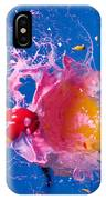 Paintball Hitting An Egg IPhone Case