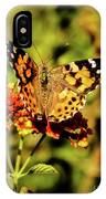 Painted Lady  IPhone Case