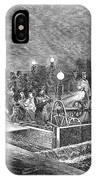 Paris: Sewers, 1869 IPhone Case
