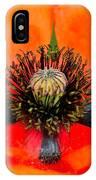 Poppy Heart IPhone Case