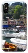 Portofino In The Italian Riviera In Liguria Italy IPhone Case