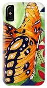 Precocious Butterfly IPhone Case